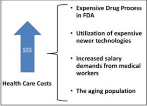 Figure 2- Components of health care costs
